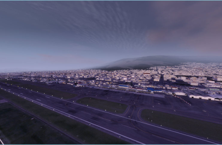 Approaching Quito Dawn