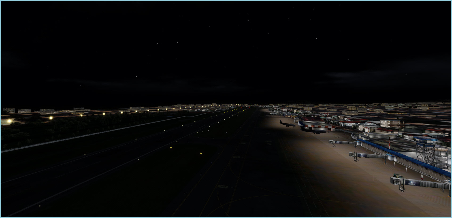 Approaching Quito Night