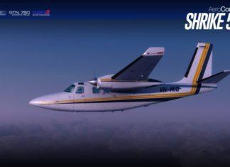 Carenado Aero Commander 500S